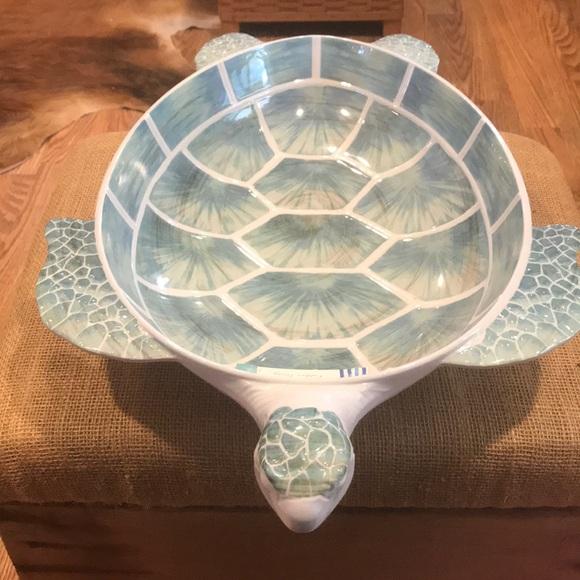 Coastal Home Small Turtle Bowl One Size